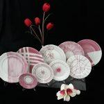 Malowane talerze
