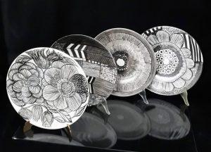Porcelanowe patery