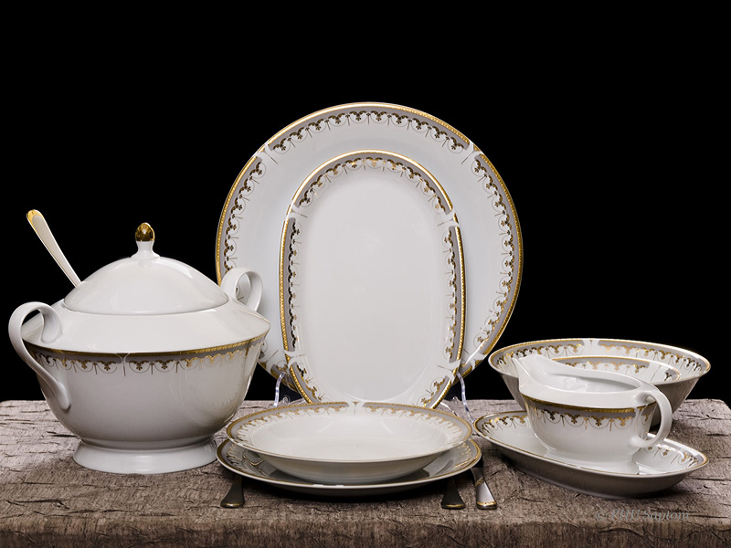 Klasyczna linia porcelany
