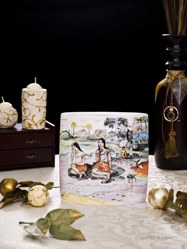 Wazon symbolisty Gauguin