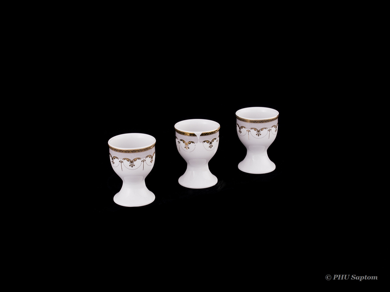 Gładka wałbrzyska porcelana