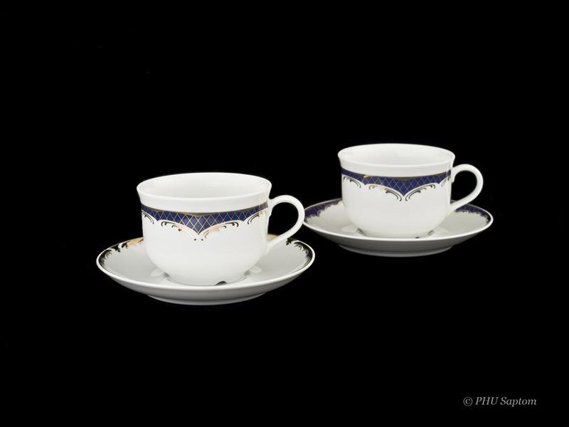 Klasyczny fason porcelany