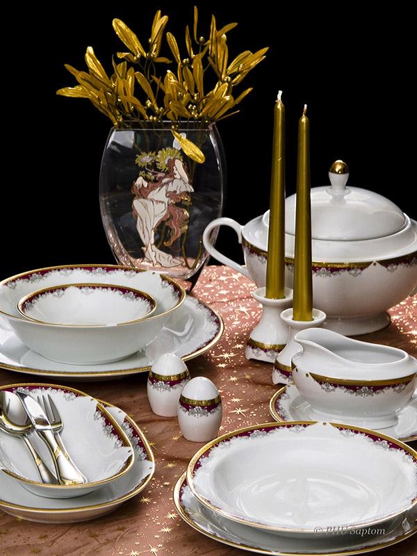 Wałbrzyska klasyczna porcelana